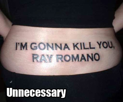 Worth going to jail for Ray Romano? Hmmm... She's got a point.