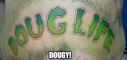 I believe the mans name is Doug. Awesome.