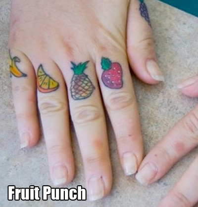 A fresh and healthy punch to the face.