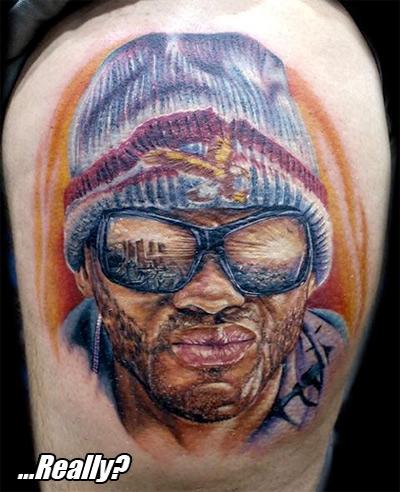 ...Hancock? Really? As a tattoo?