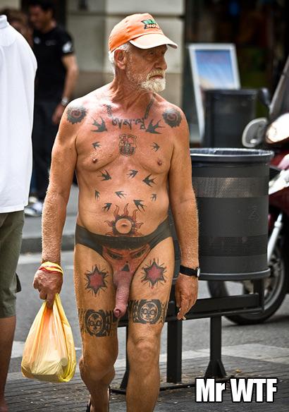 Голые пожилые люди фото