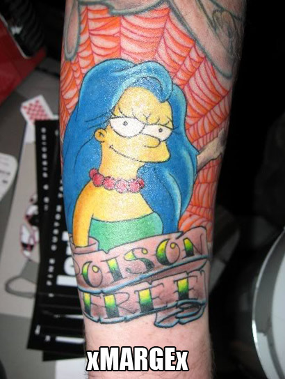 Marge Simpson: Edge role model?